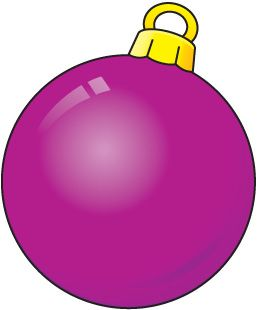 Holiday Ornaments Clipart Free