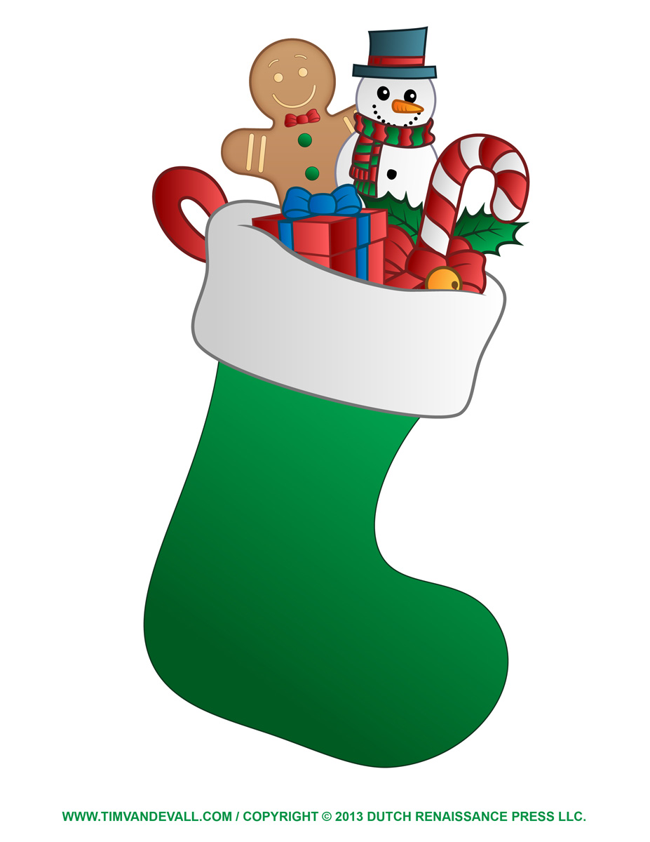 927x1200 Hanging Christmas Stockings Clipart