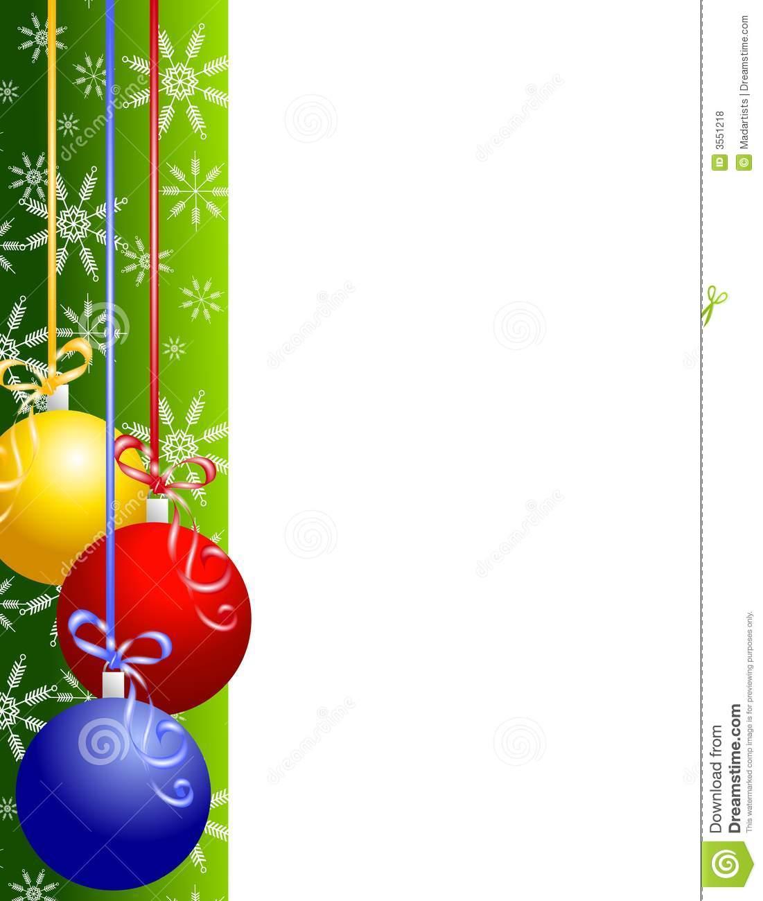 1101x1300 Christmas Ornaments Border Christmas Clip Art