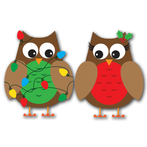 500x500 Add Some Fun To Your Christmas Creations With These Fun Owls