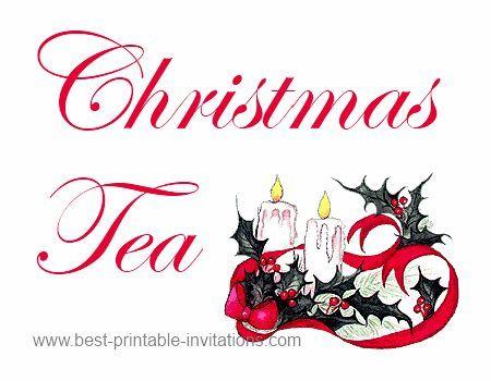 450x350 Tea Party Clipart Holiday Tea