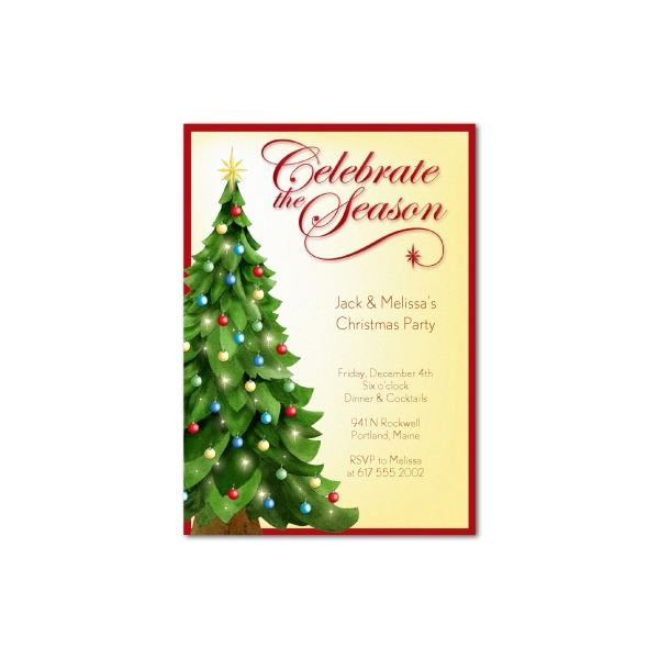 600x600 100 christmas invitation template word free holiday party