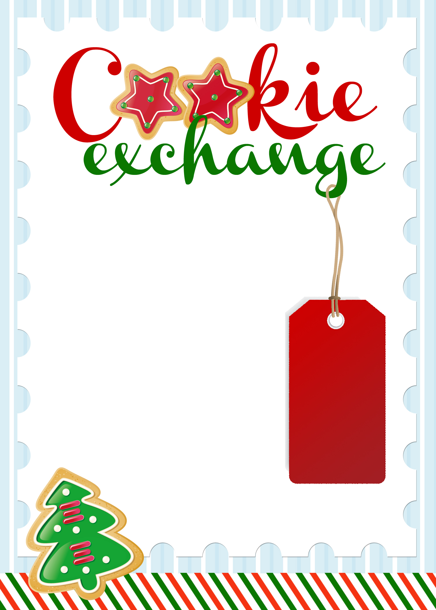 1500x2100 Cookie Exchange Clip Art
