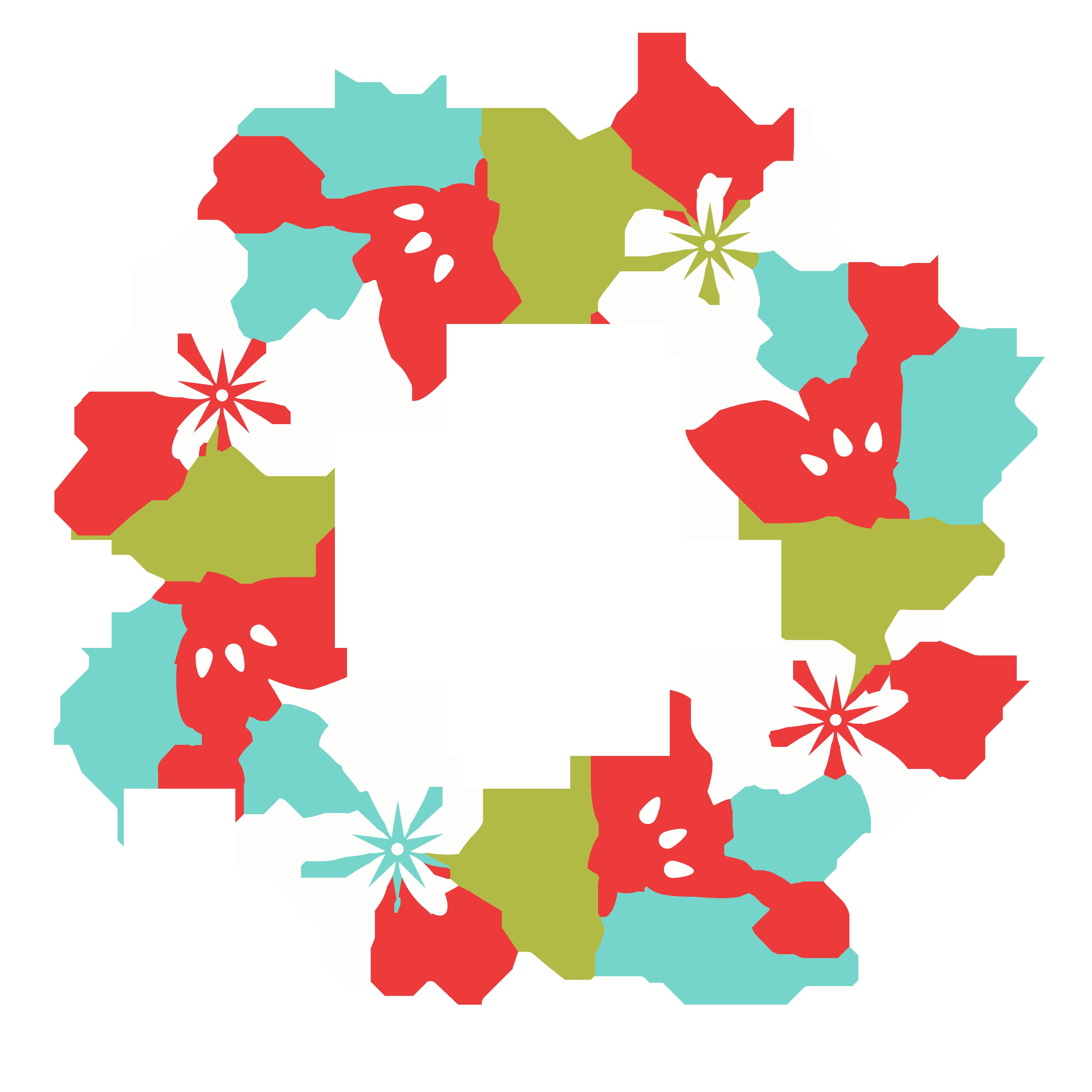 3600x3600 Free Christmas Wreath Clip Art!