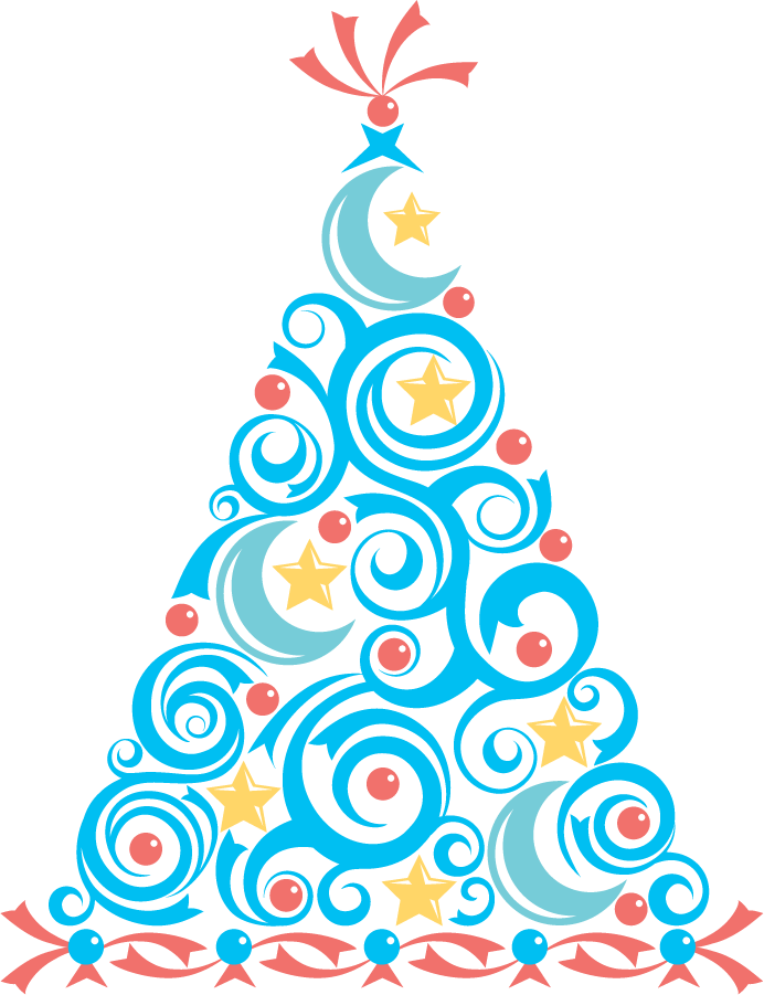 692x901 Holiday Party Clipart