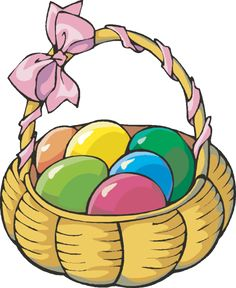 236x288 Basket Clipart Easter Holiday
