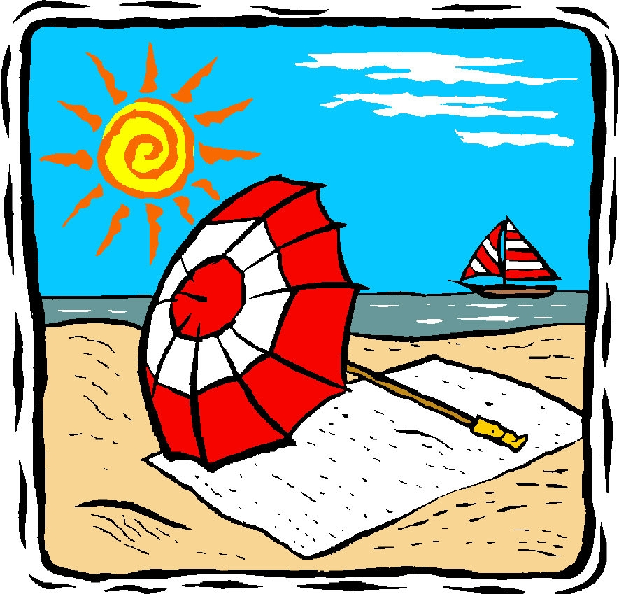 885x849 Summer Clipart Family Holiday
