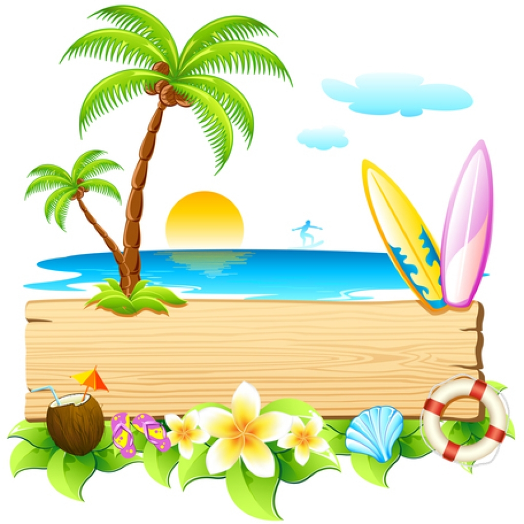 1024x1024 Summer Holiday Clip Art Vector Summer Holiday 1000 Graphics Inside