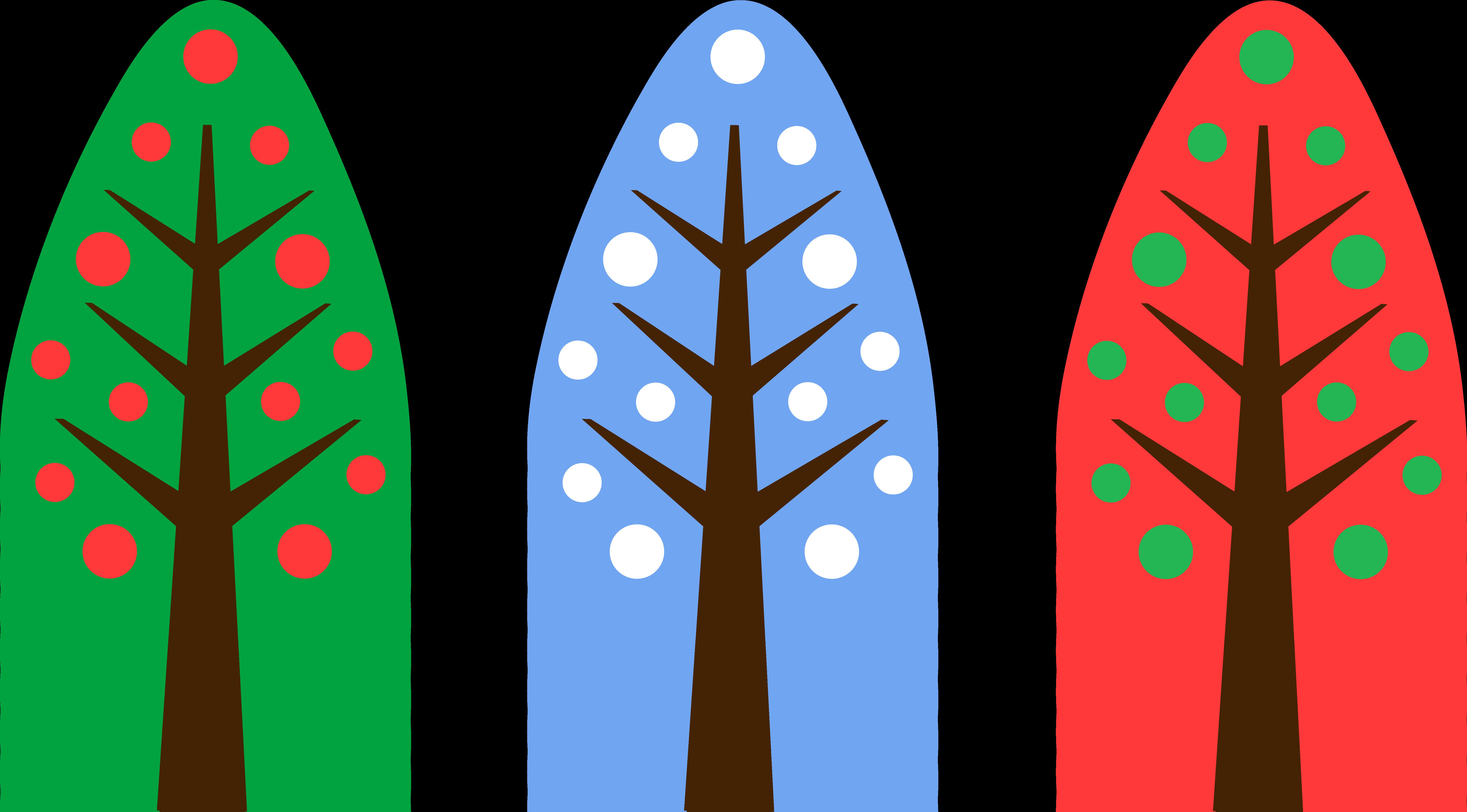 6887x3814 Christmas Tree Clipart Holiday Tree