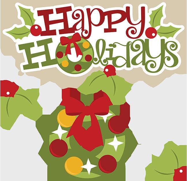 648x629 Clip Art Happy Holidays Clipart Kid 4
