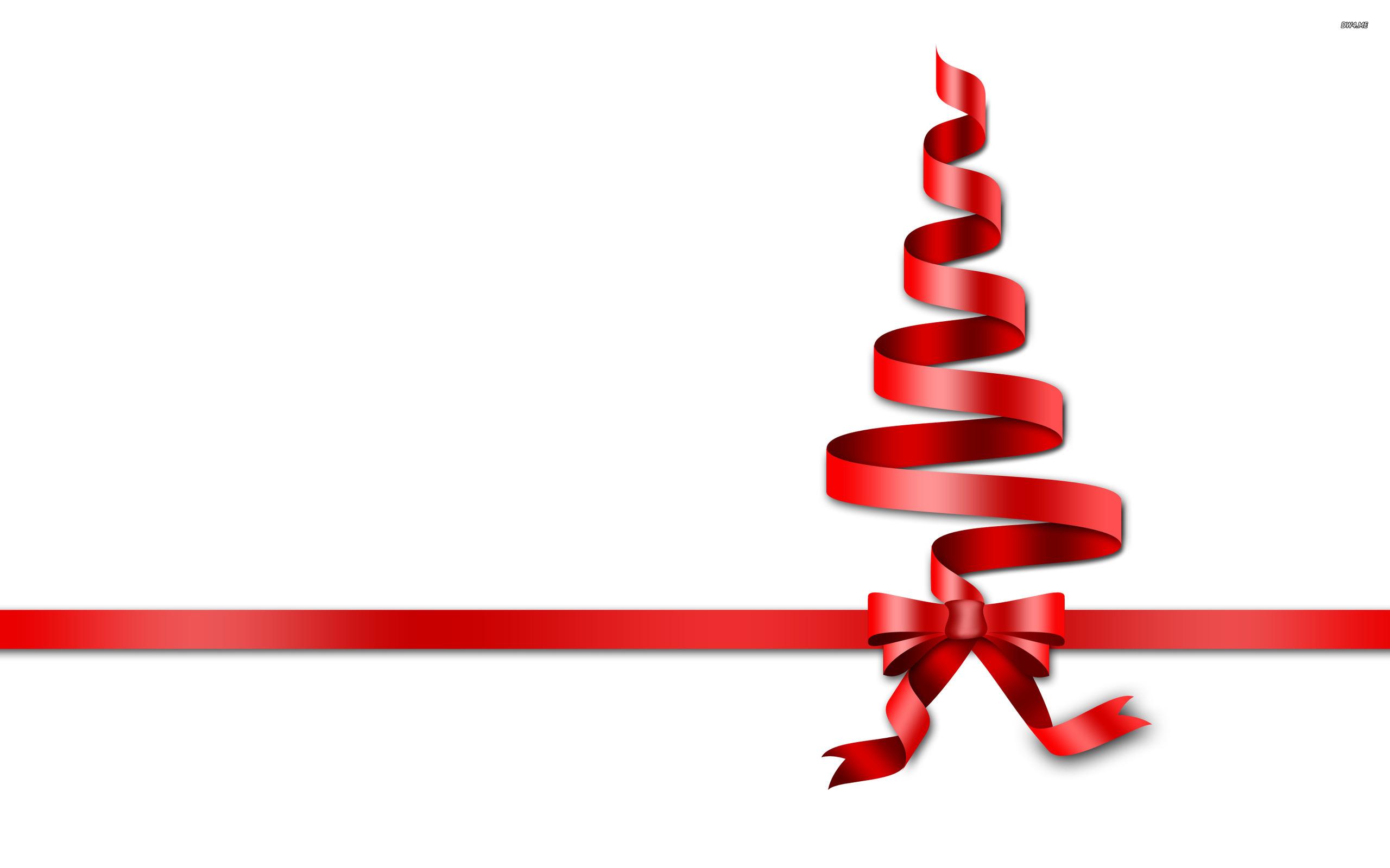 2560x1600 Free Christmas Ribbon Border Clip Art