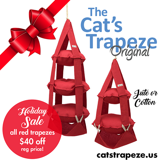 550x550 Cat's Trapeze Holiday Sale! Hauspanther