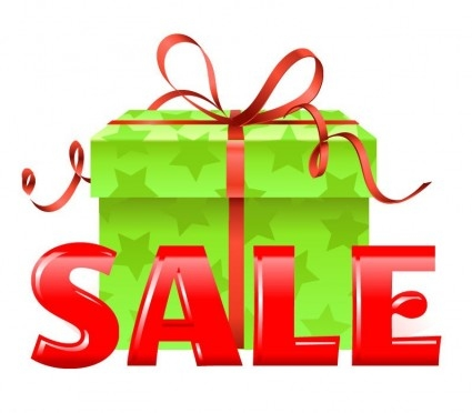 425x372 Holiday Shopping Clipart