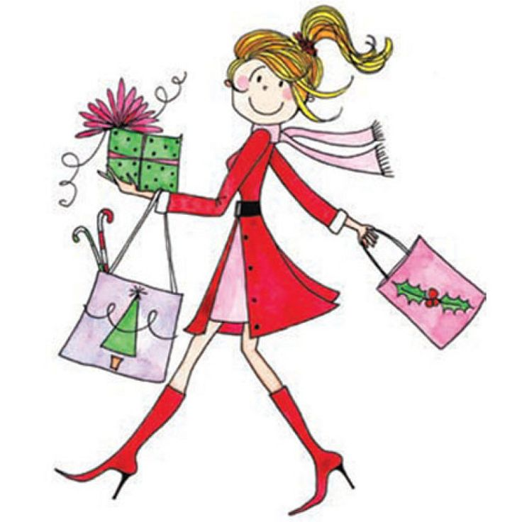 736x736 Holiday Shopping Clipart 101 Clip Art