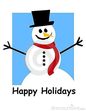350x450 Holidays Snowman