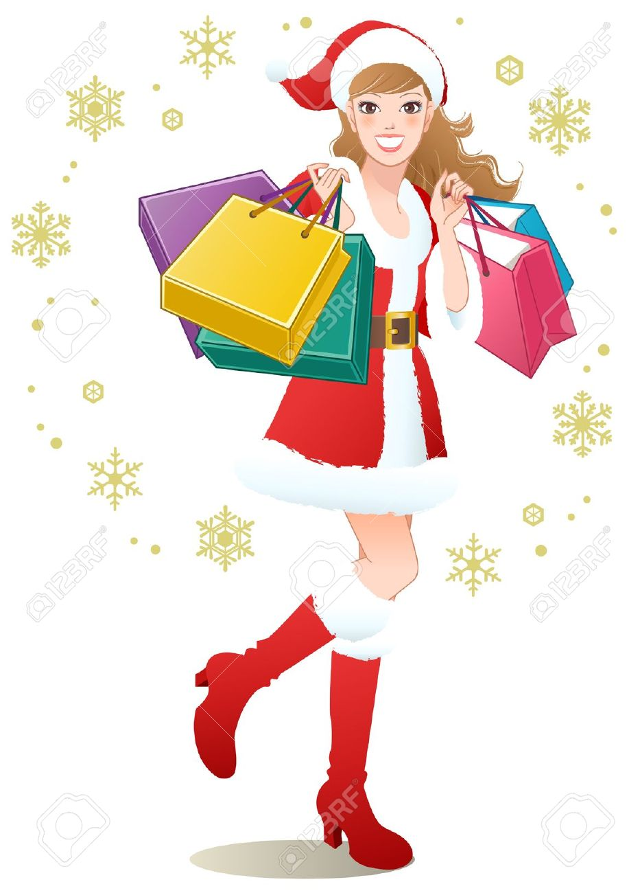 917x1300 Bag Clipart Holiday Shopping