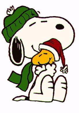 274x392 Christmas Snoopy Clip Art