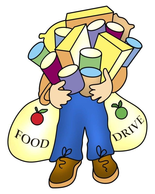 640x800 Food Bank Drive Thank You Clipart