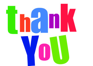 300x212 Free Clipart Thank You