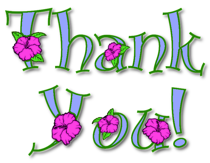 698x540 Purple Thank You Clipart