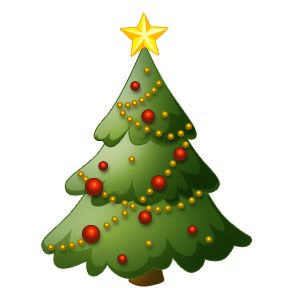Holiday Tree Clip Art