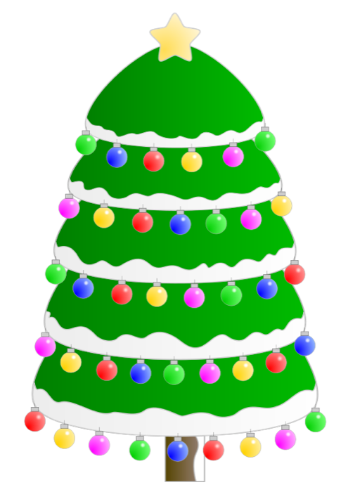 495x700 Christmas Tree Clipart