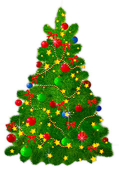 238x340 Free Animated Christmas Trees