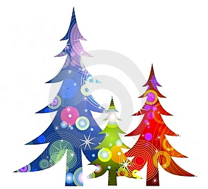 300x273 Holiday Tree Clip Art