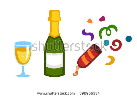 450x320 Holiday Clipart Champagne