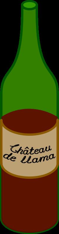 202x800 Wine Clipart Wine Bottle