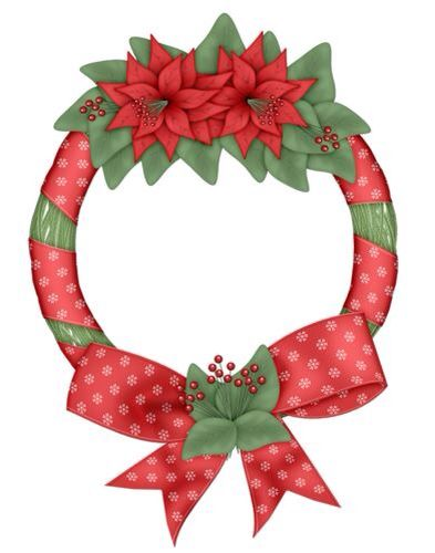 Holiday Wreaths Clipart