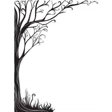 390x390 Rubbernecker Sleepy Hollow Tree Printable Sleepy