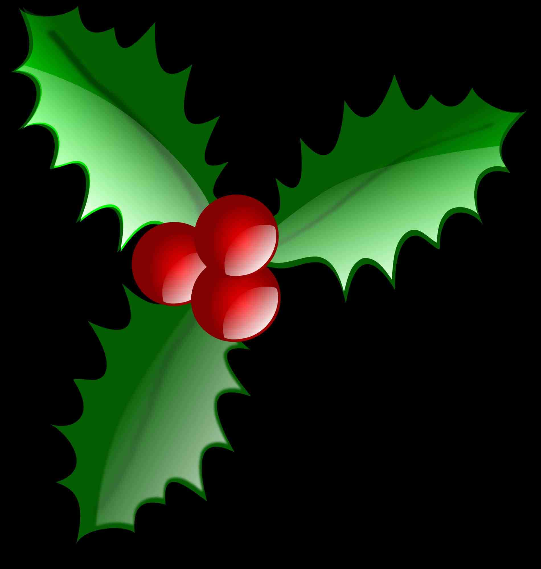 1900x1998 Christmas Holly Border Clipart Cheminee.website