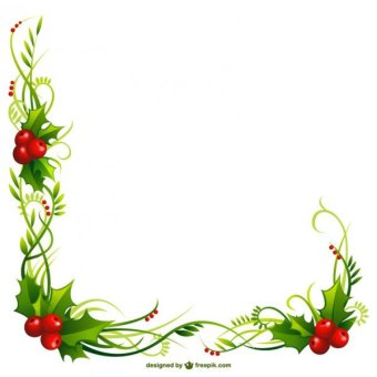 340x340 33 Holly Border Clipart Vectors Download Free Vector Art