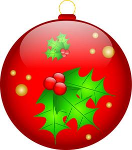 263x300 Free Ornament Clip Art Image