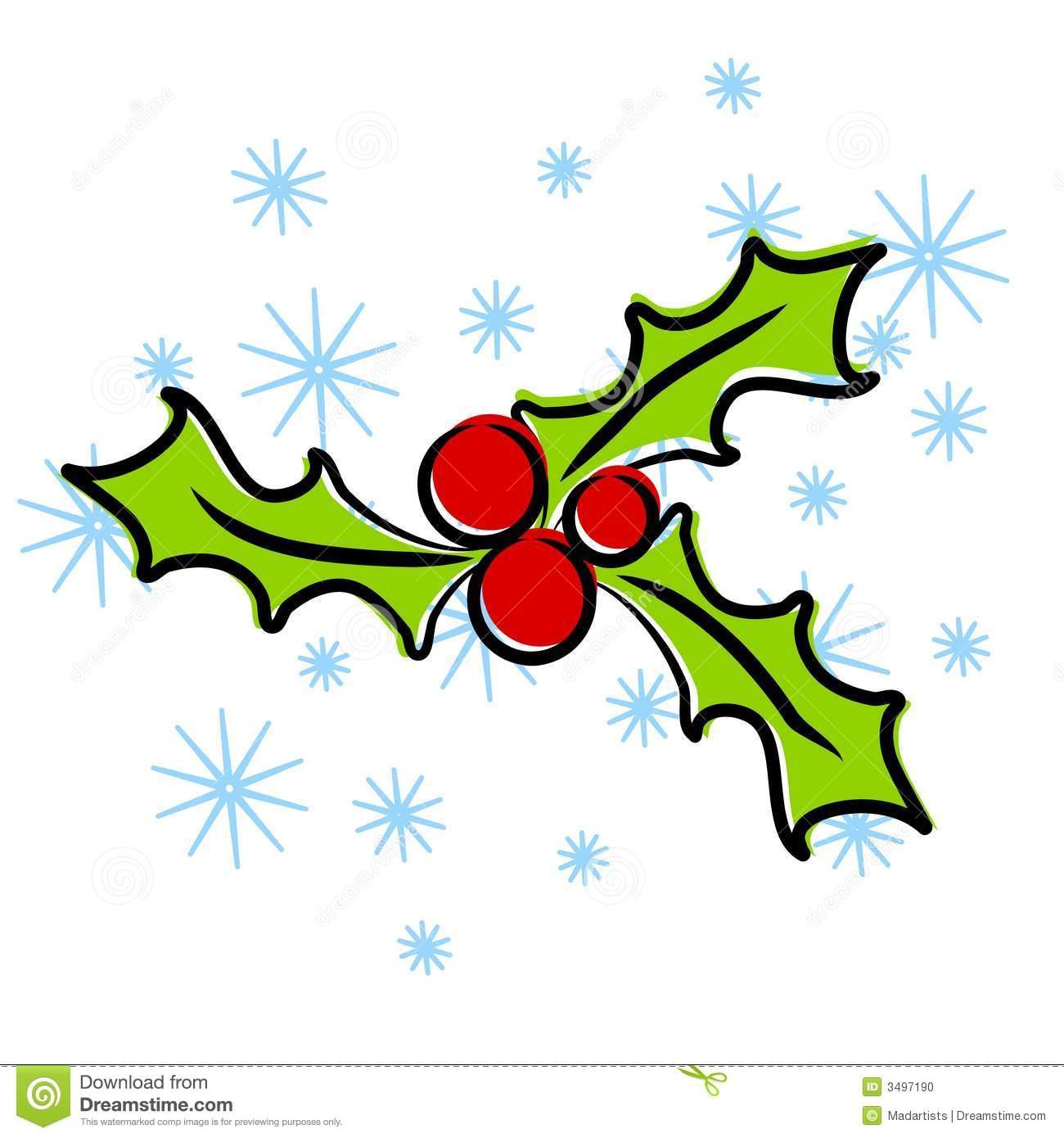 1300x1390 Free Christmas Clip Art Holly Clipart Panda