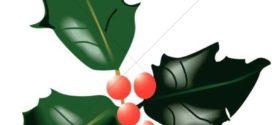 272x125 Cartoon Christmas Holly Free Download Clip Art Free Clip Art