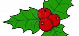 272x125 Christmas Holly Clip Art Borders Clipart Panda