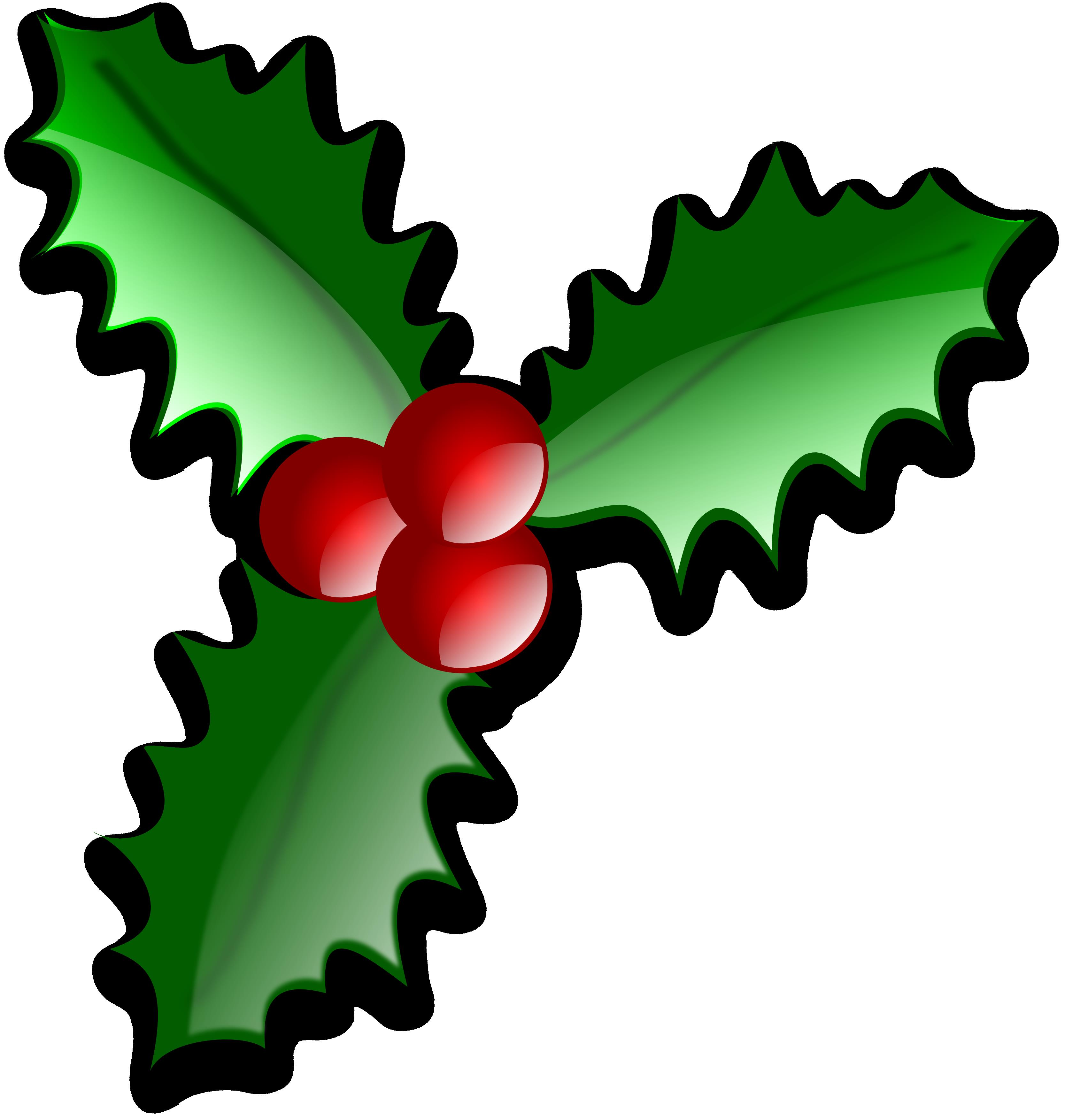 3333x3506 Free Christmas Clip Art Holly. Christmas Clipart Free Free