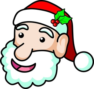 300x285 Free Santa Claus Clipart Image