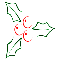 221x237 Free Clipart Holly