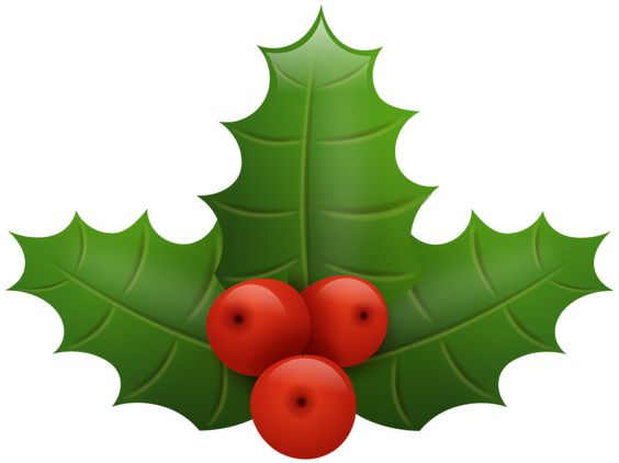 564x422 Christmas Holly Png Clip Art Image Christmas Tree Decoration Png