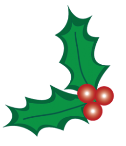 258x300 Clip Art Holly