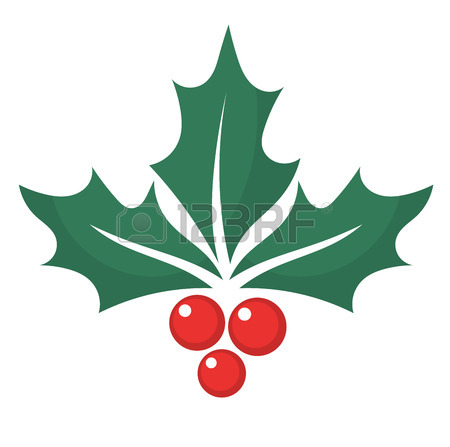 Holly Leaves Clipart