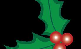 276x168 Holly Leaf Clipart