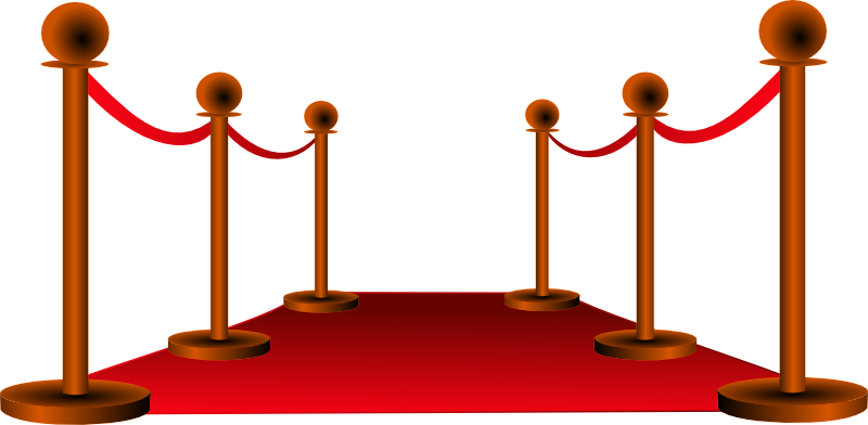 800x392 Clipart Of Red Carpet