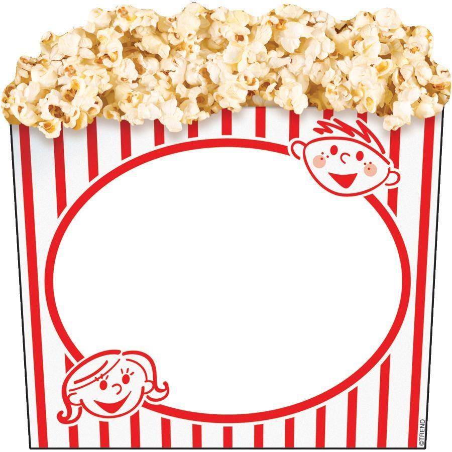 900x900 Popcorn Clipart Border