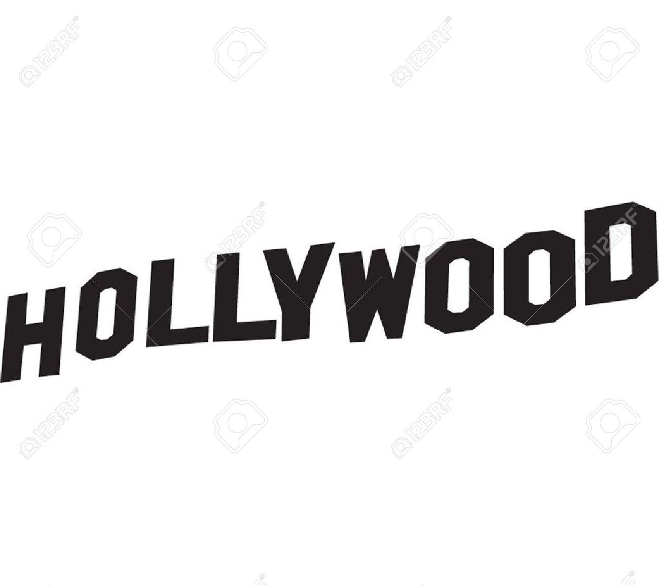 1300x1155 Hollywood Sign Clip Art Cliparts