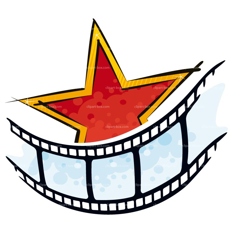 800x800 Hollywood Star Clipart