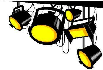 348x238 Lights Clipart Hollywood Light